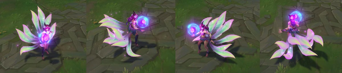 Elderwood Ahri turnarounds (chroma was shown in official PBE preview video, this is base!) <br>http://pic.twitter.com/1Zm02vKBlW