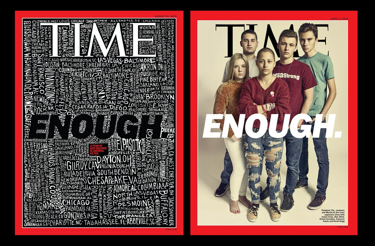 """""""Doing nothing in the face of repeated mass murder in our society is indefensible."""" TIME's Editor-in-Chief @efelsenthal writes about the story behind TIME's gun violence cover http://mag.time.com/MSLuklz"""