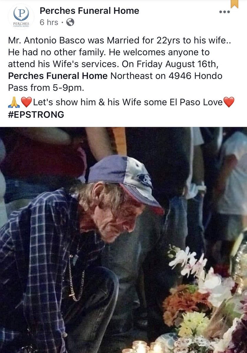 The funeral home has shared the wishes of Mr. Basco on its Facebook page.