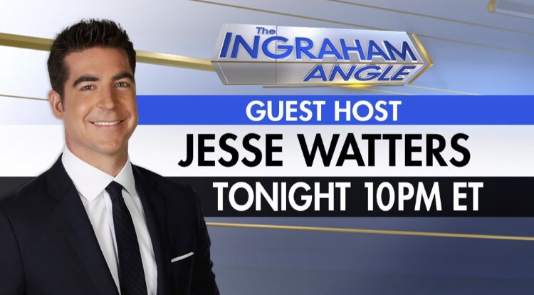 I'll be hosting The @IngrahamAngle tonight AND tomorrow! Tune in at 10PM ET! #TheAngle https://t.co/QkD4mlK33Z