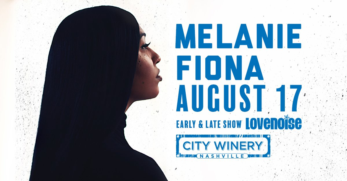 This Saturday, don't miss the Grammy winning R&B songstress @MelanieFiona @CityWineryNSH with all that soulful charm!  Both early/late show tickets available. Win/Buy: https://do615.com/artists/melanie-fiona …
