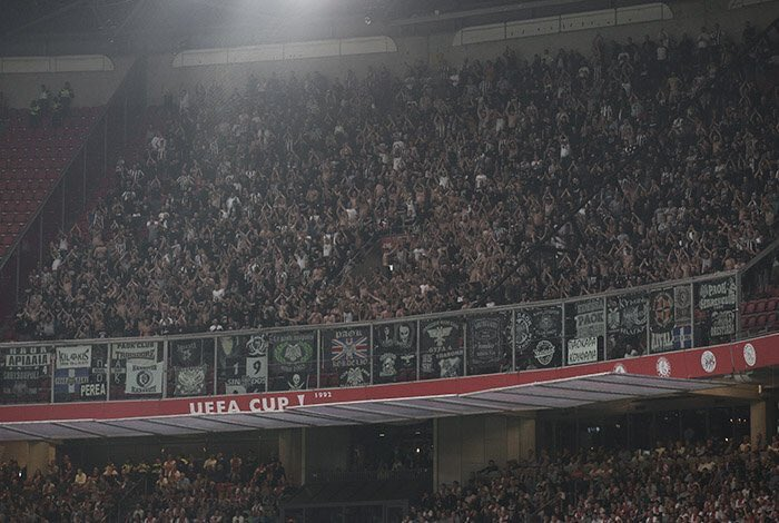 Incredible travelling support from @PAOK_FC as always <br>http://pic.twitter.com/xPZX37glO0