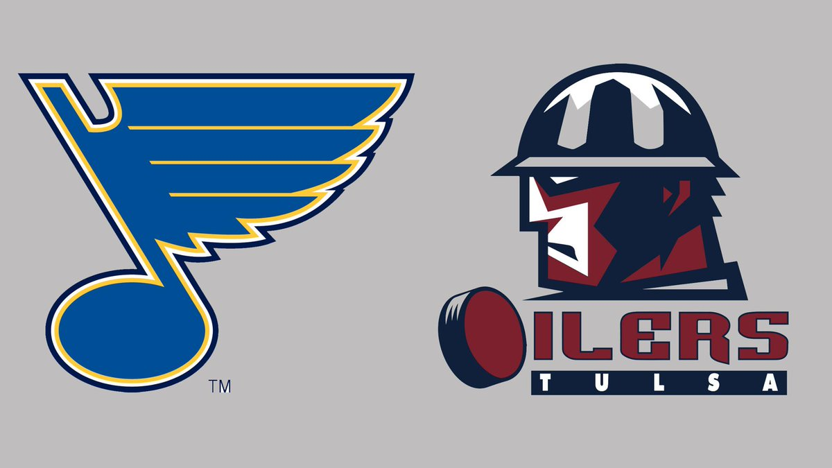 We've agreed to a one-year extension of our affiliation agreement with the ECHL's @tulsa_oilers. #stlblues