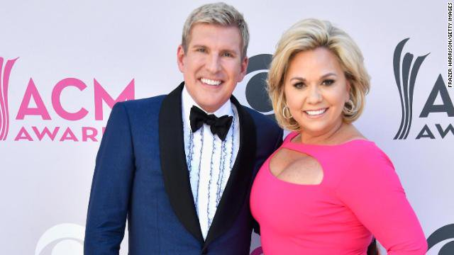 """Todd and Julie Chrisley, stars of USA Network's """"Chrisley Knows Best,"""" have been indicted by a grand jury on tax evasion and other charges https://cnn.it/2N05Kdl"""