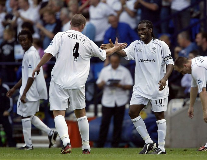 Happy 46th birthday to former Bolton and Nigeria midfielder Jay-Jay Okocha. What a player...