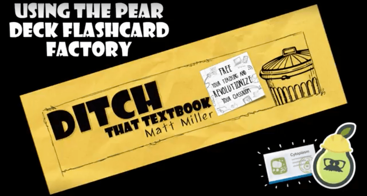 Create flashcards WITH students with Flashcard Factory ditchthattextbook.com/2018/04/02/cre… #ditchbook #edtech