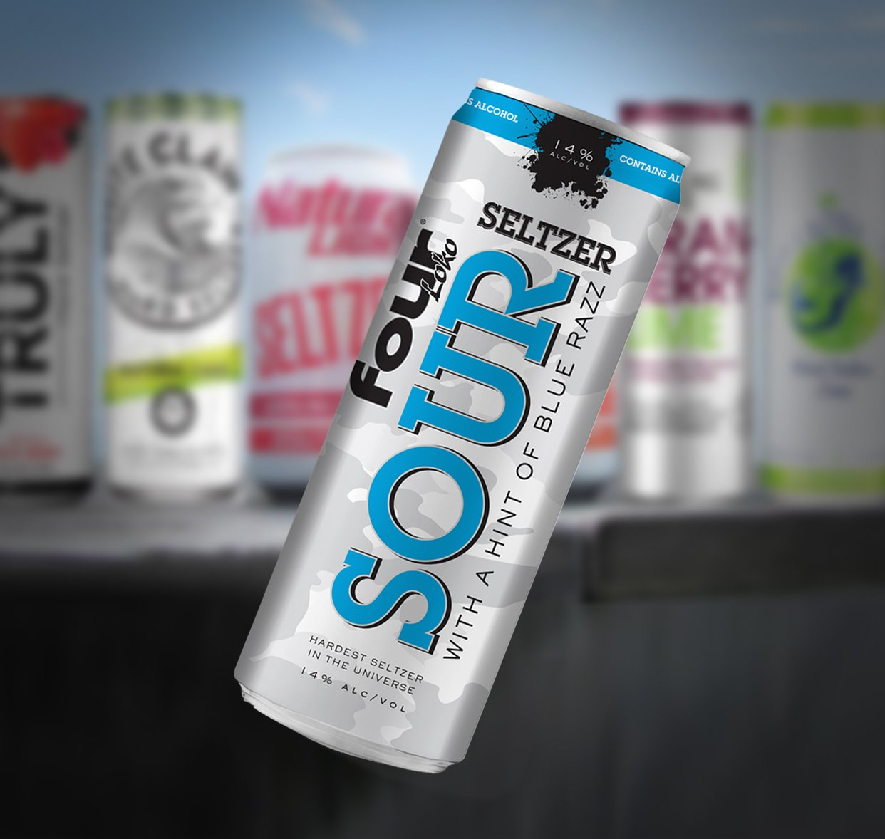Four Loko On Twitter Hard Seltzers Ran So We Could Fly