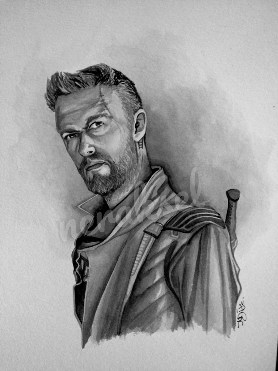 #AskSeanGunn  Did Kraglin consider Yondu like a brother or a dad or something else?  Also, how do you like my drawing? <br>http://pic.twitter.com/oIVBfUbV0C