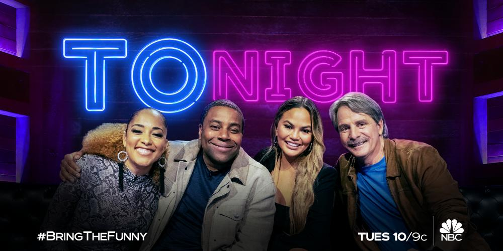 Looking forward to round 2 of the Comedy Clash on #BringTheFunny TONIGHT at 10/9c on @nbc! I'll be back on here later to watch it with y'all!