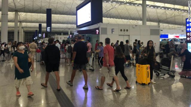 The Hong Kong International Airport has returned to normal operations following clashes between protesters and police  https://cnn.it/2YMi8EF