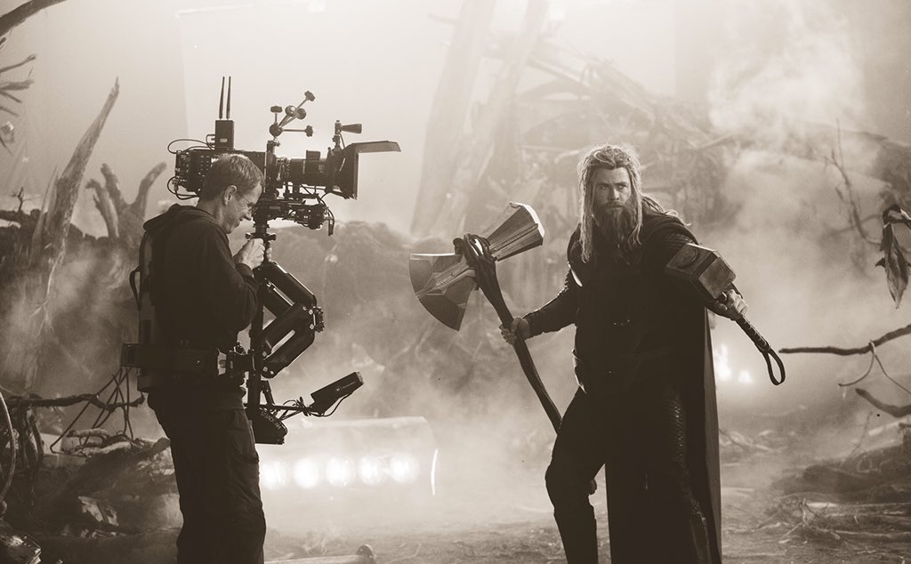 Much like Thor acquiring Mjölnir AND Stormbreaker, you can now have #Endgame on Digital AND Blu-ray...