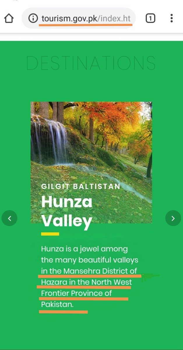 RT @GBpak: CHECK this screenshot taken from official website of tourism ministry of Pakistan.  👇#Blunder https://t.co/kX91lBPgFg