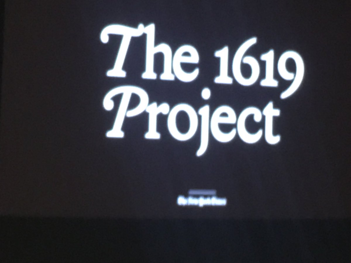 #1619Project live-streaming now. timesevents.nytimes.com/1619NYC
