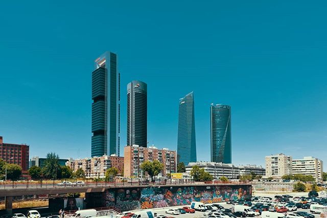 Cristian Lozano on Twitter: Cuatro Torres - Shot 2.  #Madrid #España  #Arquitectura  Mayo 2019.  #cuatrotorres #businesscenter #torres #building #buildings #rascacielos #lookingup #architecture #architect #spain #myphotography #myphoto #huawei_photography #huawei #skyline #europe #…