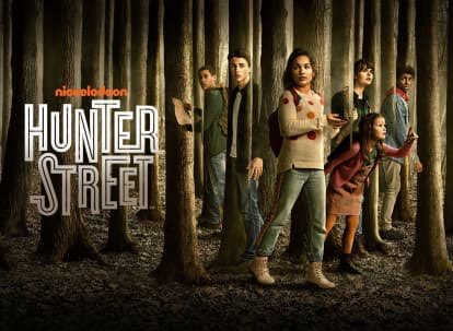 Watching The New Episode of #HunterStreet on #TeenNick