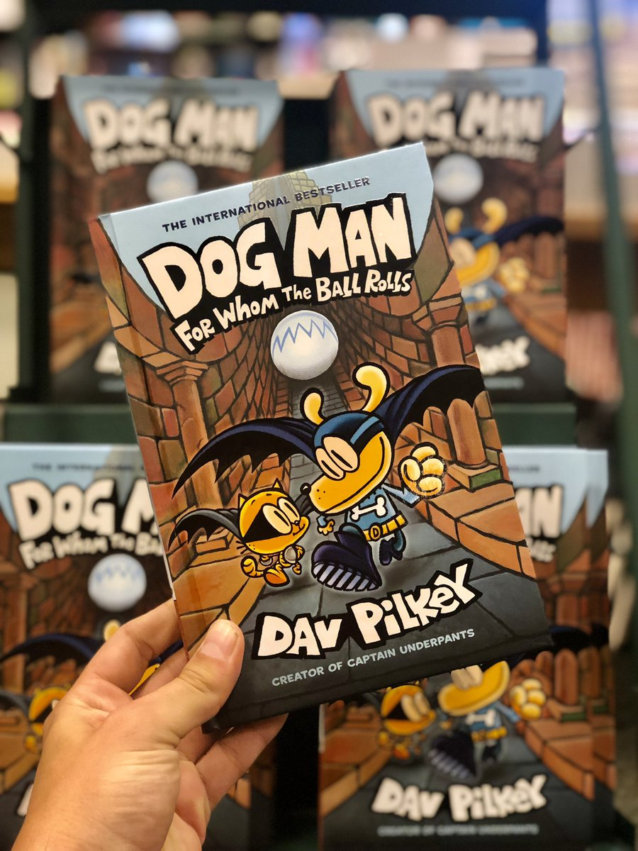 It's #newreleasetuesday and the new Dog Man is here!