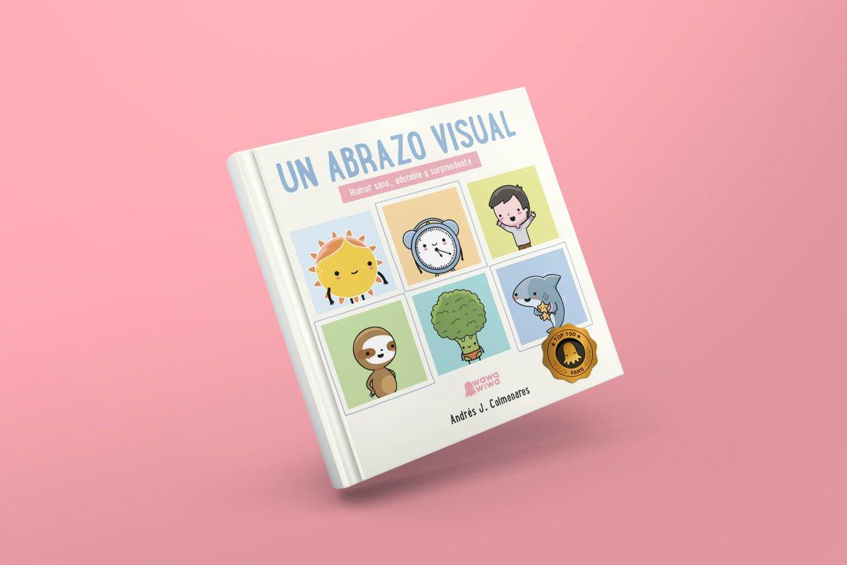 ¡Ha comenzado la preventa! Las 100 primeras personas en comprar estarán en nuestro nuevo libro. ¡Envíos a toda América! https://www.wawawiwadesign.com/product-page/libro-un-abrazo-visual…