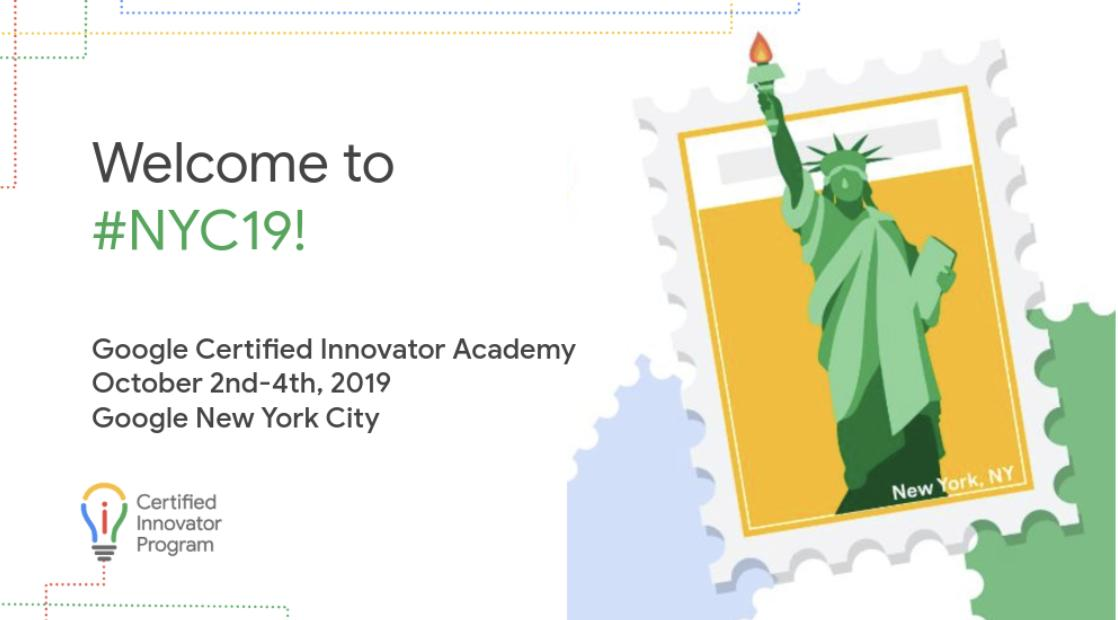 Congratulations to the newest cohort of @GoogleforEDU Certified Innovators, #NYC19! #nyedchat #GoogleEI https://t.co/3KLnyaVwjb still 2 more to apply to! https://t.co/OEpMDU9fuz #SWE19 #BRZ19 https://t.co/2tIdNRqtCA