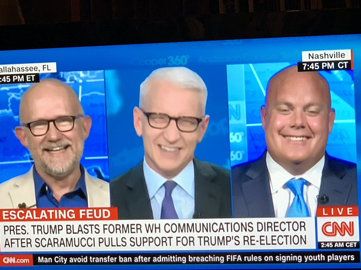 """Absolutely perfect!@TheRickWilson on @AC360, """"#SoftHandedManBaby"""" that's #Trump"""