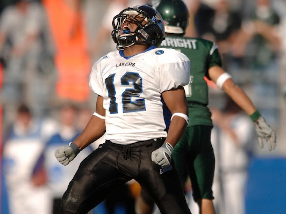 Grand Valley State won a #D2FB record 40 consecutive games from 2005-07.    See the complete list of teams with the longest winning streaks in DII football history:  https:// on.ncaa.com/gptgd    .<br>http://pic.twitter.com/HQA7CQOkcm