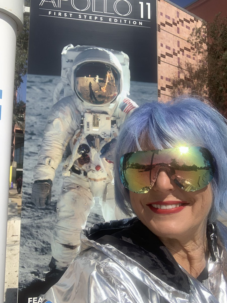 Next #BurningMan and your #cybersecurity style can warm up #LosAngeles  and our #Entertainment  and #ladyrocketspace to #cybersecuriry as not such a #boring necessity , #dc_peppercon welcomed in Los Angeles for #ApolloXI followup I have <br>http://pic.twitter.com/P3duTSzhO3 – à Air and Space Center