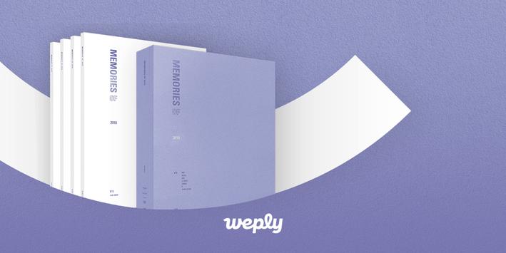 ¡Gracias por su paciencia!🤗🤗 ¡Ahora puede obtener el DVD BTS MEMORIES OF 2018 que ha estado esperando durante tanto tiempo para volver a estar disponible! Consíguelo en Weply 👉 app.weply.io/0sxzp