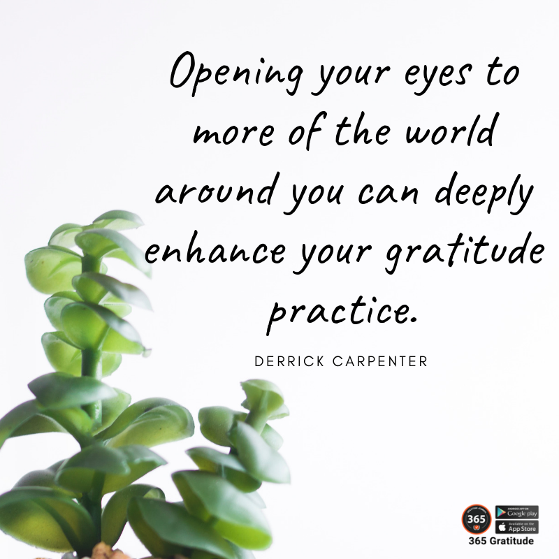 Open yourself to the wonders around you.        #365gratitude  365 Gratitude App: https://365gratitudejournal Follow @365gratitudejournal   #bebrave #thetimeisnow #transformation #youcandoit #professionalcoach #careercoaching #lifecoaching<br>http://pic.twitter.com/HA96DixMrP