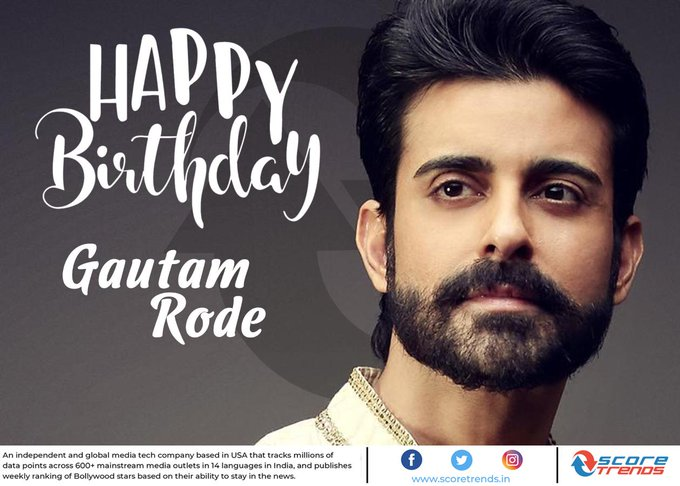 Score Trends wishes Gautam Rode a Happy Birthday!!