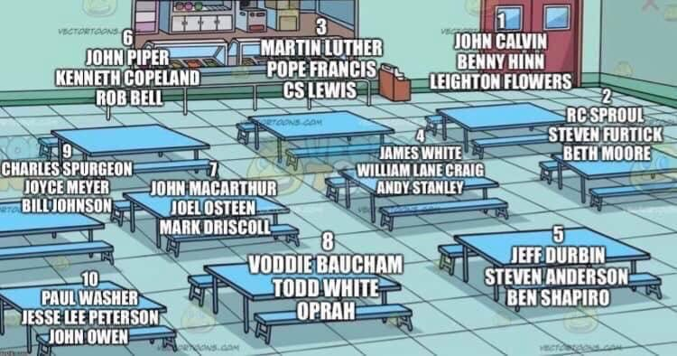 The choice is obvious.  Table #3