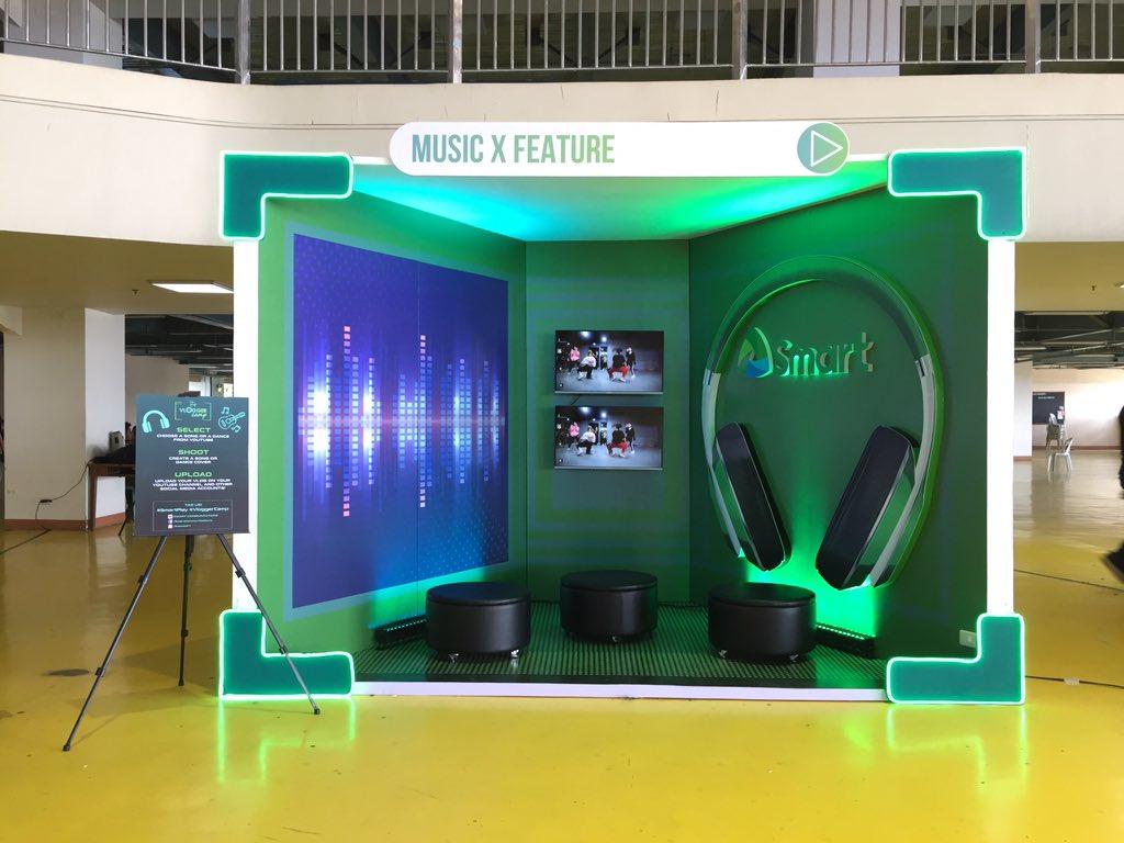 Music Pod #Saulog2019 #SmartPlay #vloggercamp