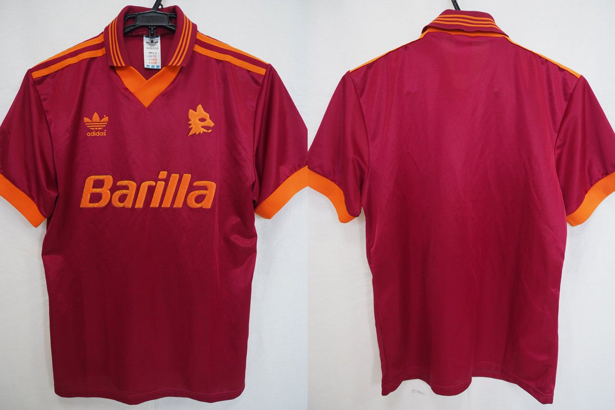 1992-1993 AS Roma Jersey Home ebay.com/itm/3527536871…