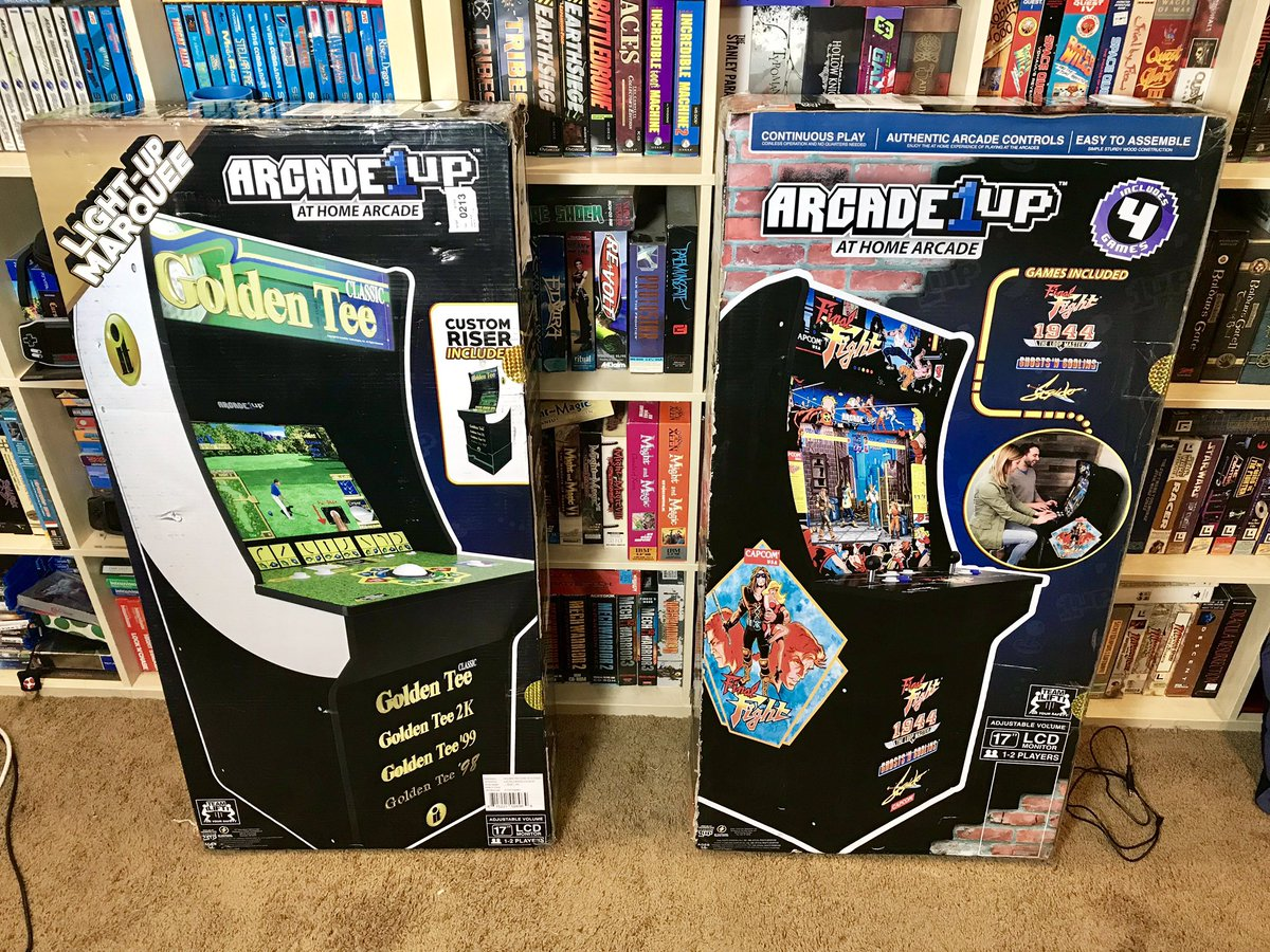 Arcade 1up on JumPic com