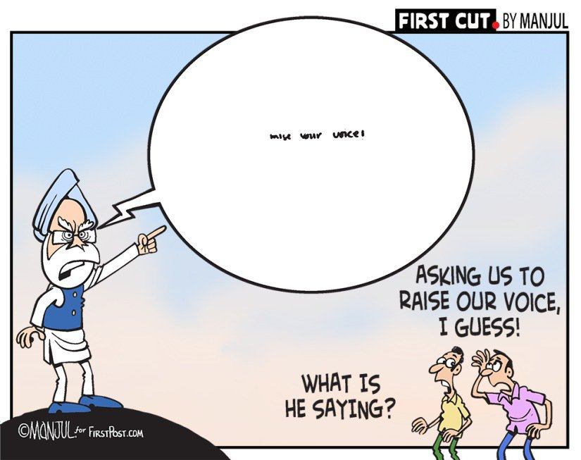 Smart ones ...as always ! @CartoonistSan @MANJULtoons @theajitninan