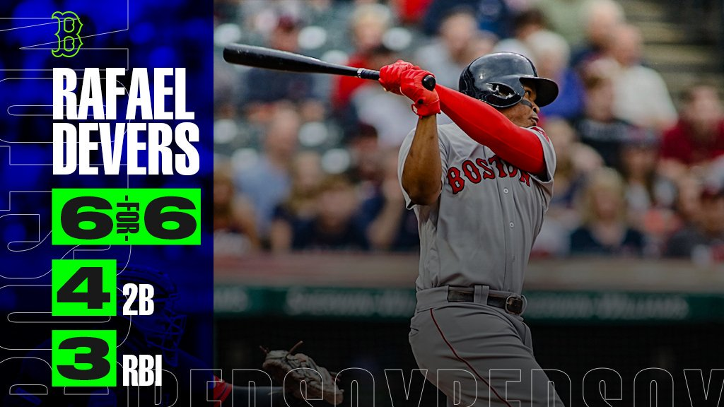 Here's the scoop: Rafael Devers made history.