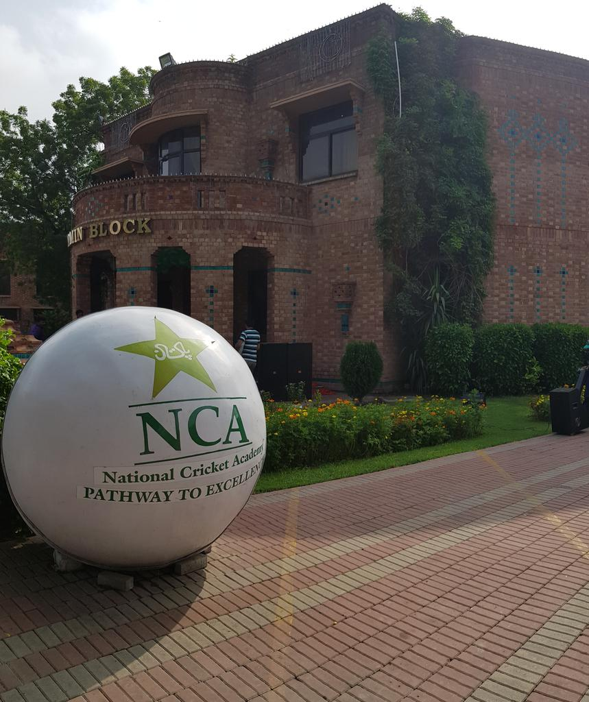 📣📣📣Flag hoisting ceremony at the National Cricket Academy. Watch Live ▶️http://www.facebook.com/PakistanCricketBoard/ …#IndependenceDay 🇵🇰