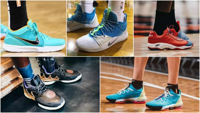 球鞋匯 | NBA球員今日球鞋上腳:鞋王Tucker又穿經典款,這雙韋德之道7太帥了!-Haters-黑特籃球NBA新聞影音圖片分享社區