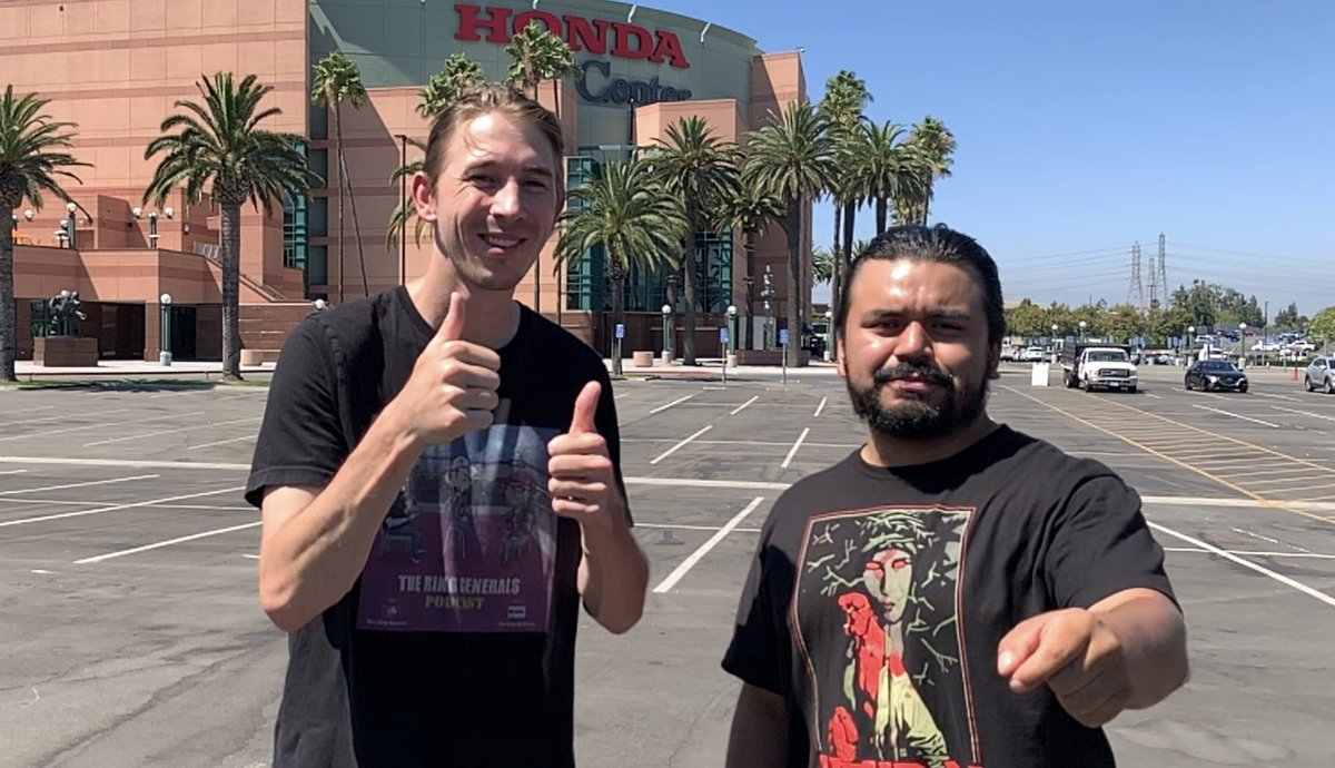Check out our PREVIEW of UFC 241! We literally did it outside of the @HondaCenter !!!  LINK -> https://youtu.be/rOz1yvZ1kJc  #UFC241 #EricSantos @nicknenad