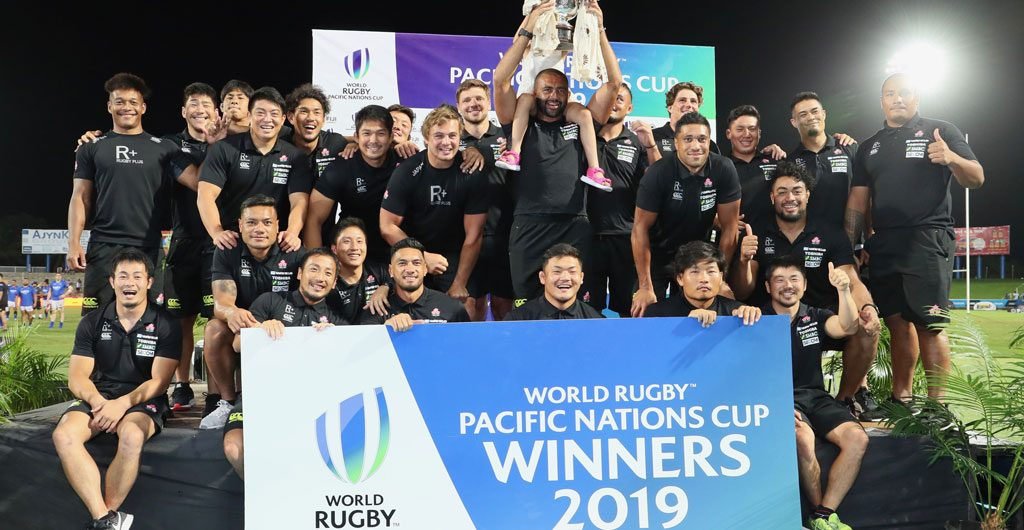 Japan Win Pacific Nations Cup Read full story here: en.rugby-japan.jp/2019/08/14/jap… #rugbyjp