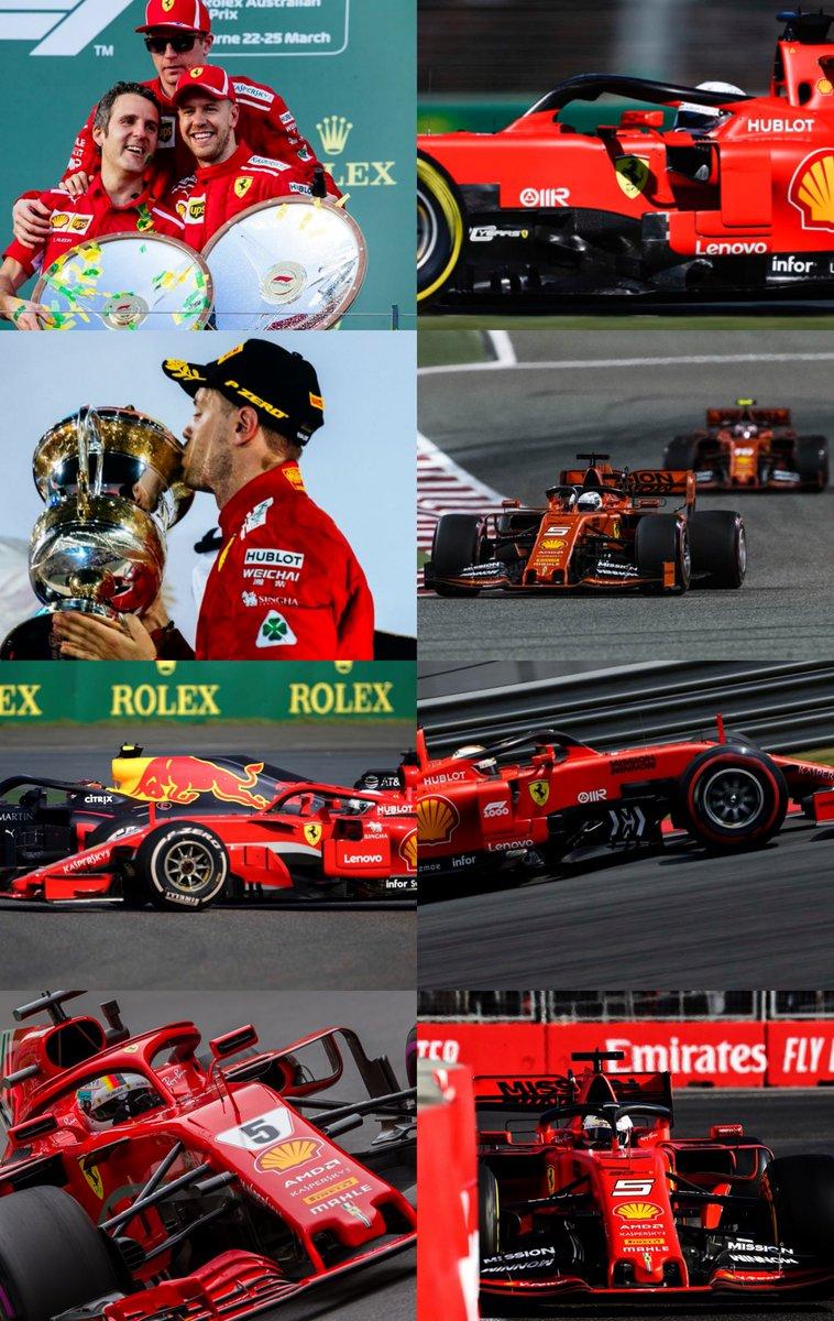 #Seb5's 2019 🆚 2018 . Races 1-4 . 🇦🇺| #AusGp | 2018: P1 - 2019: P4 🇧🇭| #BahrainGp | 2018: P1 - 2019: P6 🇨🇳| #ChineseGp | 2018: P8 - 2019: P3 🇦🇿| #AzerbaijanGp | 2018: P4 - 2019: P3 . #F1 #Formula1
