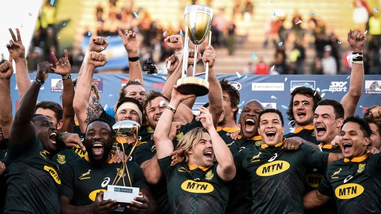 test Twitter Media - 🇿🇦 How did the @Springboks go from losing 57-0 to New Zealand in 2017 to champions of the southern hemisphere two years later? 👉 https://t.co/DM8EyqnyTt https://t.co/BtCiIMCWpJ