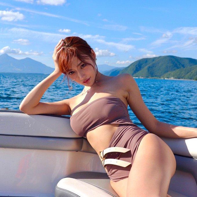 AV女優明日花キララのTwitter自撮りエロ画像47