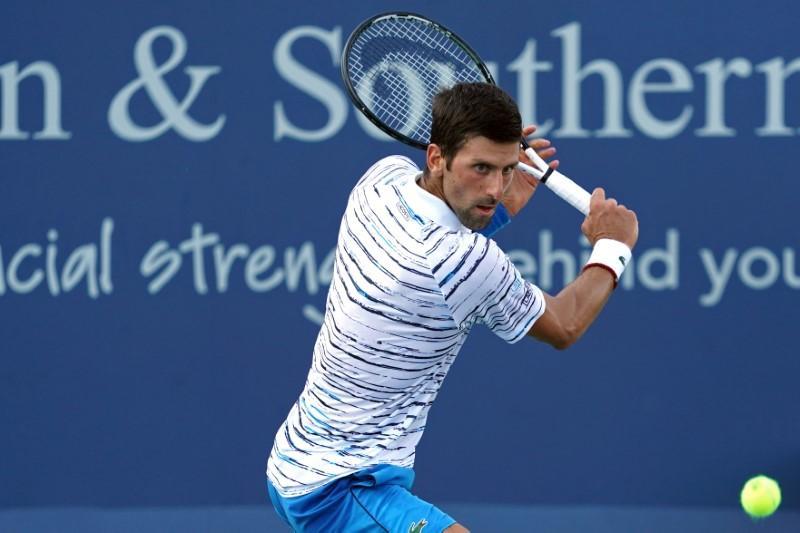 Djokovic shakes off rust, Federer rolls in Cincinnati https://reut.rs/2OQ4NXl