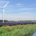 Image for the Tweet beginning: Vattenfall combines wind, solar and