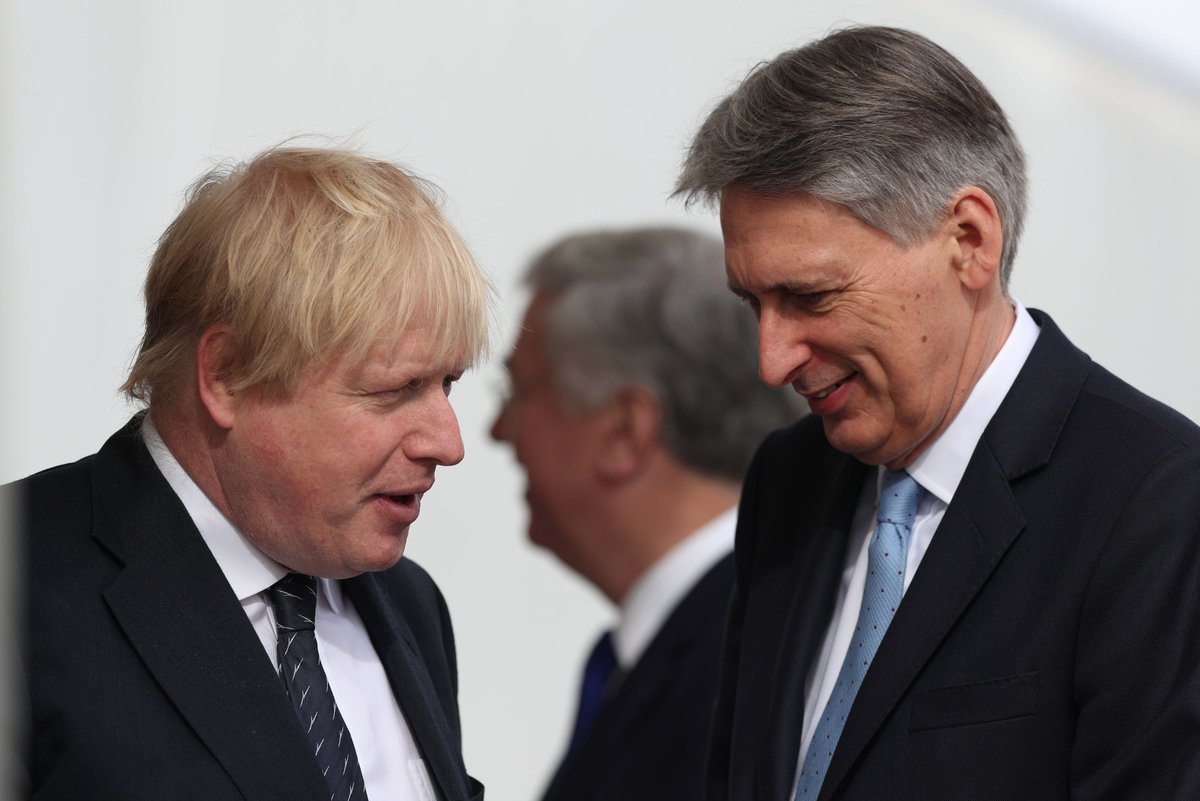 Former chancellor Philip Hammond has accused the Prime Minister of trying to wreck the chances of a new Brexit deal, by making demands the EU will not accept itv.com/news/2019-08-1…