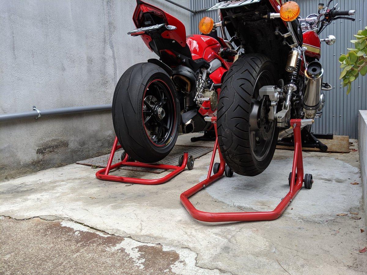 台風 対策 バイク