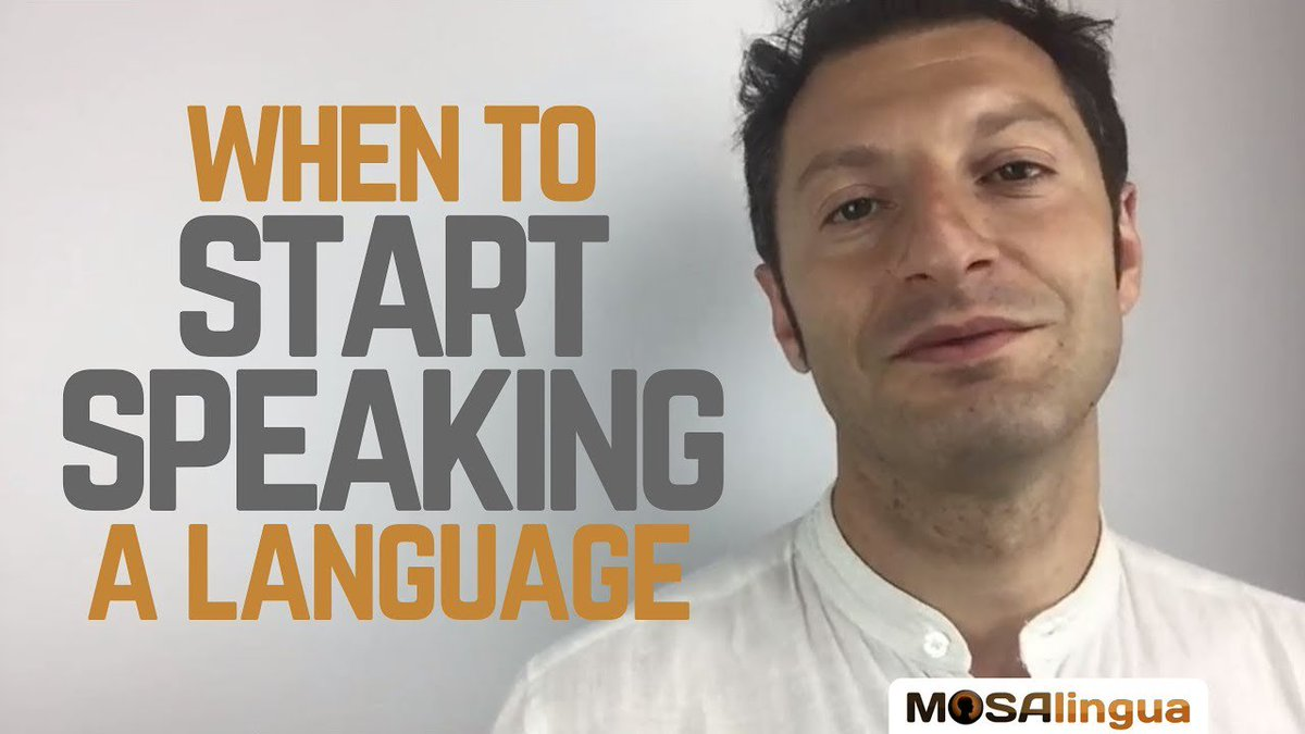 📞 Speaking from day 1? Or waiting untill you get more confident? 🤔 Check out Lucas point of view: ow.ly/WOTx50vwC01 #video #languagelearning