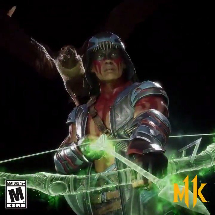 Beware those who defy the Matoka! Nightwolf is now available to hunt down your opponents in early access! #MK11 http://go.wbgames.com/MK11