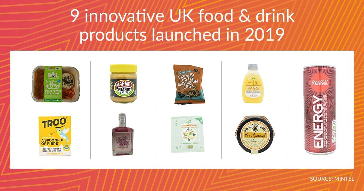 9 innovative UK food &