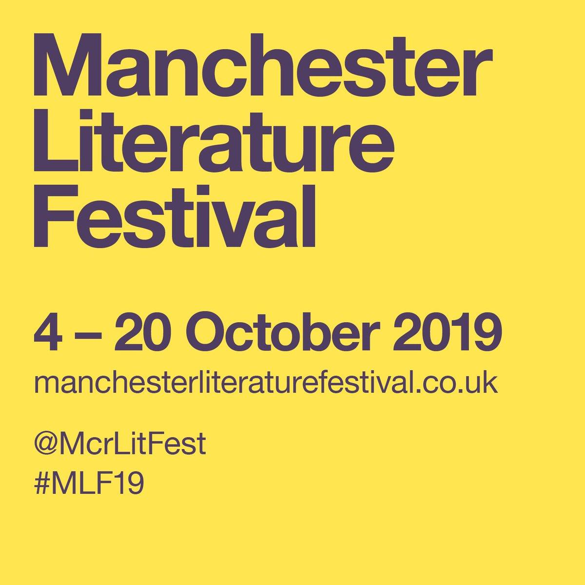 Manchester Lit Fest (@McrLitFest)   Twitter