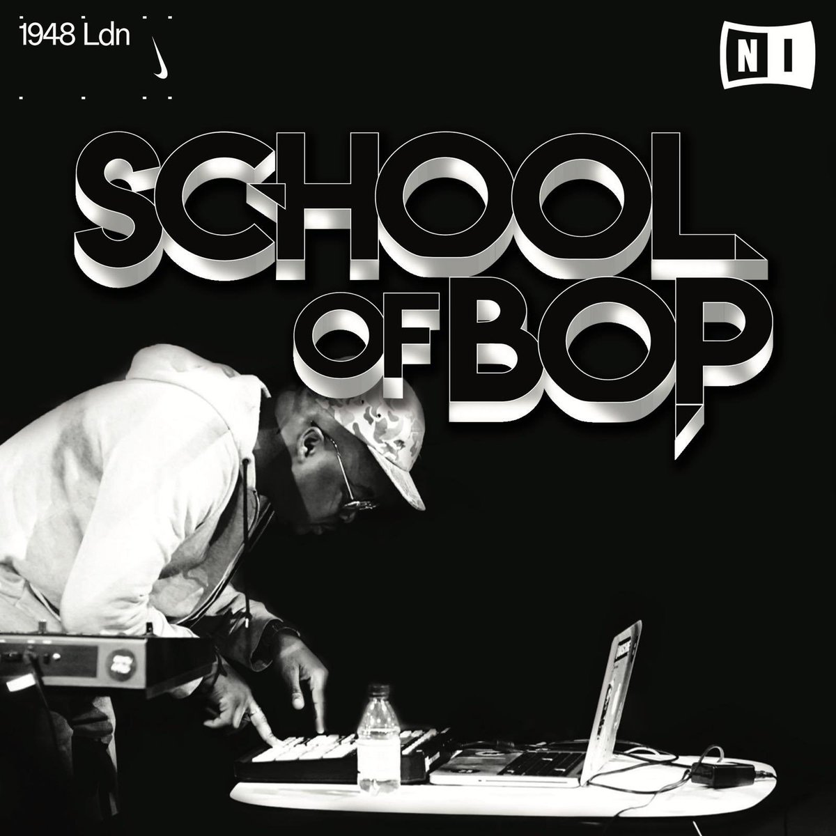 Super gassed to announce I am hosting a summer production workshop called School of Bop powered by Native Instruments @NI_News (KOMPLETE and MASCHINE) and 1948Ldn.   Its taking place at 1948Ldn, Nike community space in Shoreditch.   Apply today:  http:// bit.ly/SchoolOfBop    <br>http://pic.twitter.com/ObvJZqiq1L